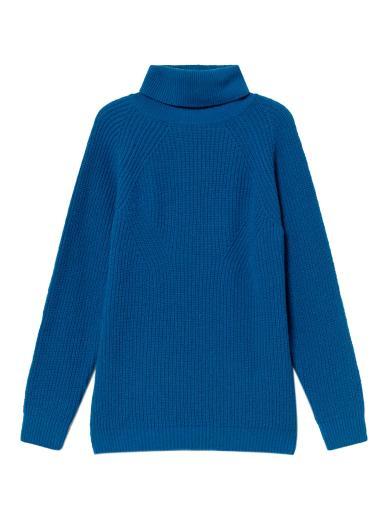 Thinking MU Matilda Knitted Sweater Blue