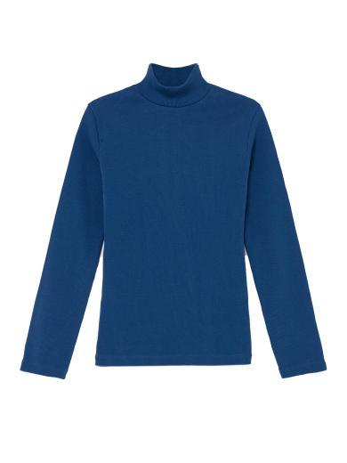 Thinking MU Rib Aine L/S Top blue