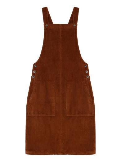 Thinking MU Bell Dress clay red | XS