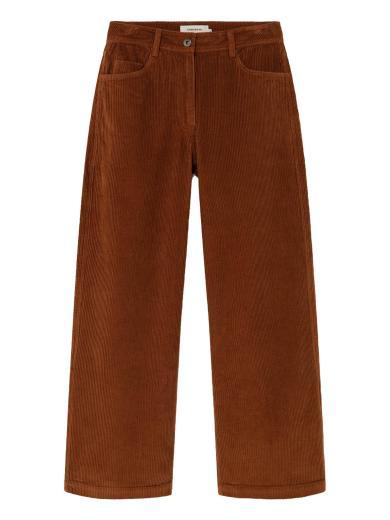 Thinking MU Corduroy Elephant Pants clay red | XS