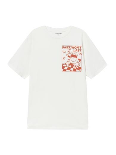 Thinking MU Fast T-Shirt white