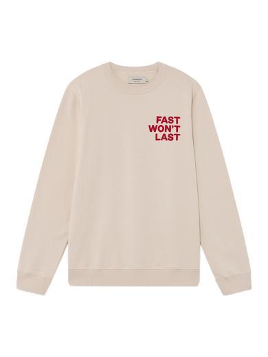Thinking MU Fast Sweatshirt rosa