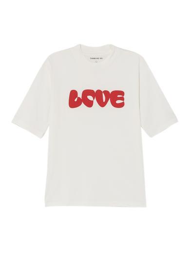 Thinking MU Love T-Shirt white