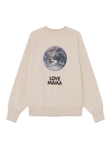 Thinking MU Love Mama Sweatshirt beige