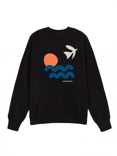 Thinking MU Med Sweatshirt schwarz