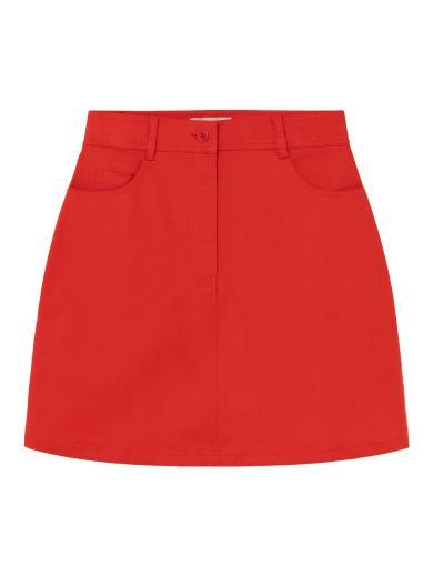 Thinking MU Marsha Skirt Red