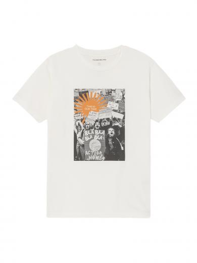 Thinking MU This Is Our Time T-Shirt white