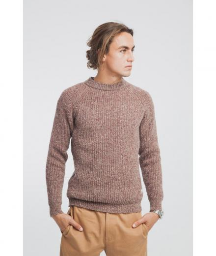 Melange Sweater melange brown | M