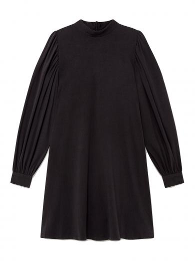 Thinking MU Flora Dress black