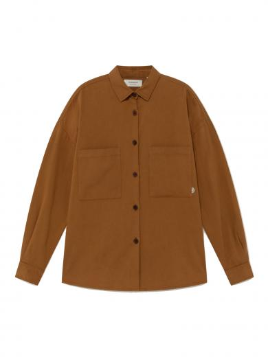Thinking MU Bes Overshirt Caramel