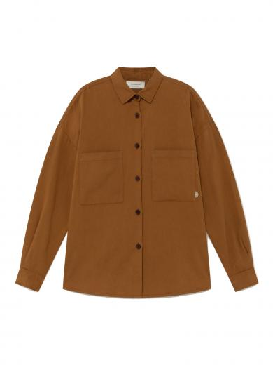 Thinking MU BAU Overshirt Caramel