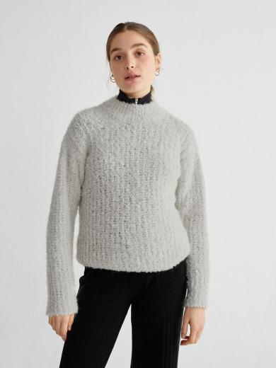 Thinking MU Trash Cotys Sweater grey