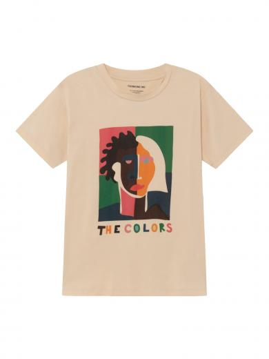 Thinking MU The Colors T-Shirt Beige
