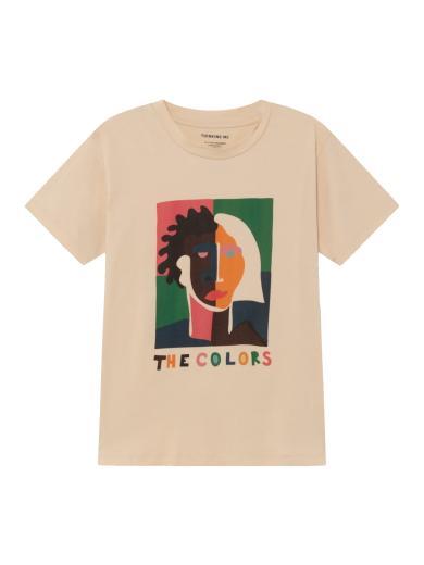 Thinking MU The Colors T-Shirt Beige