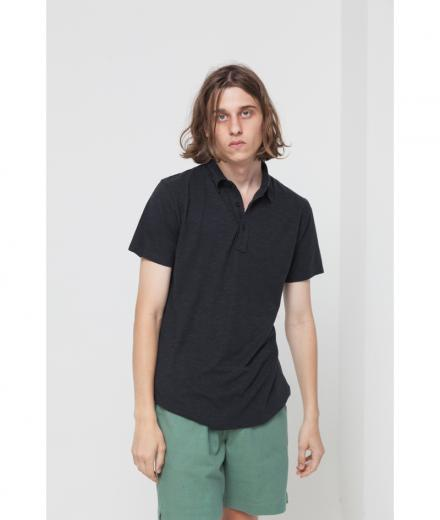 Thinking MU Hemp Polo Phantom