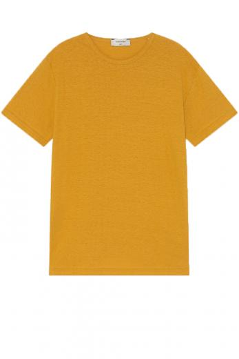 Thinking MU Hemp T-Shirt mustard
