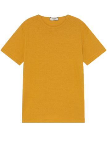 Thinking MU Hemp T-Shirt mustard | XL