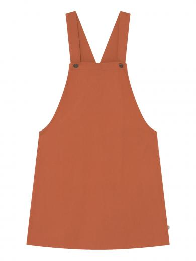 Thinking MU Amelie Jumper Dress terracotta