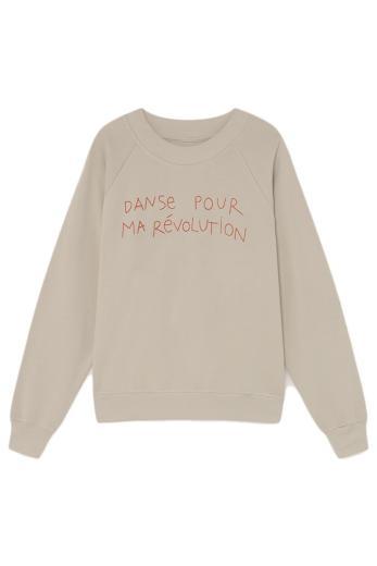 Thinking MU Danse Raglan Sweatshirt beige