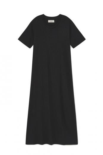 Thinking MU Hemp Oueme Dress phantom | XS