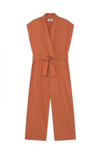 Thinking MU Malawi Jumpsuit terracotta | S