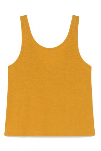 Thinking MU Hemp Tank Top mustard | M