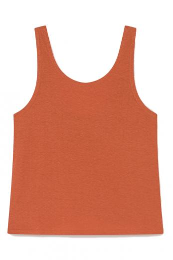 Thinking MU Hemp Tank Top terracotta | M