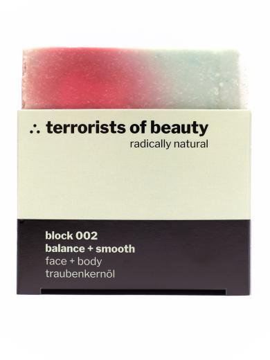 terrorists of beauty seife block 002 balance + smooth