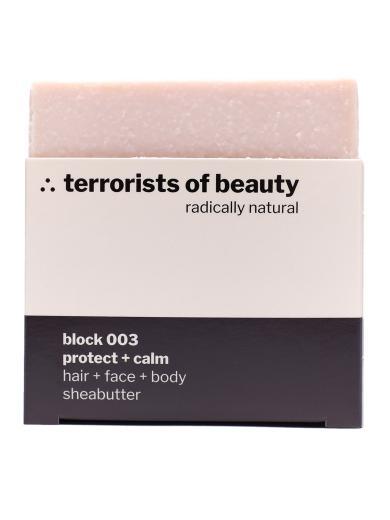 terrorists of beauty seife block 003 protect + calm