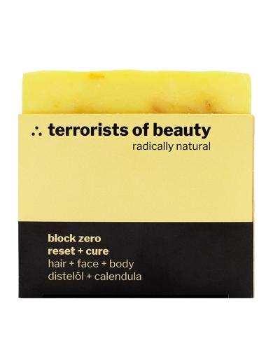 terrorists of beauty seife block zero reset + cure