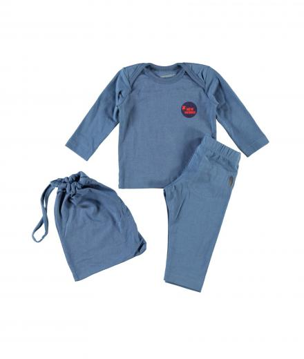 IMPS&ELFS Pyjama blau | 68