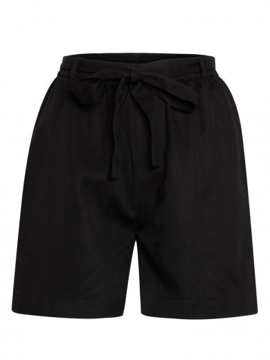 Knowledge Cotton Apparel Tulip Shorts Black Jet