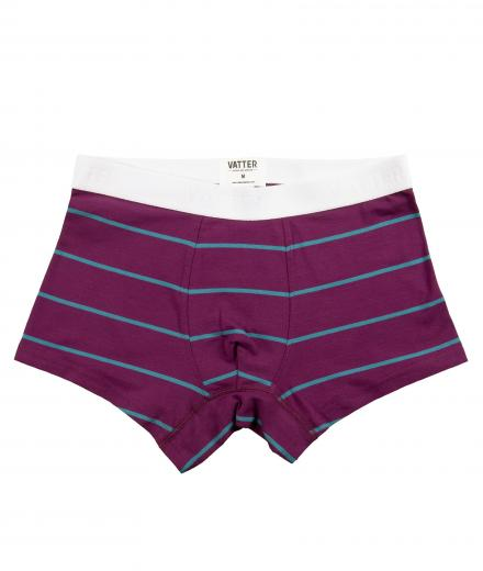 VATTER Tight Tim purple/blue stripes
