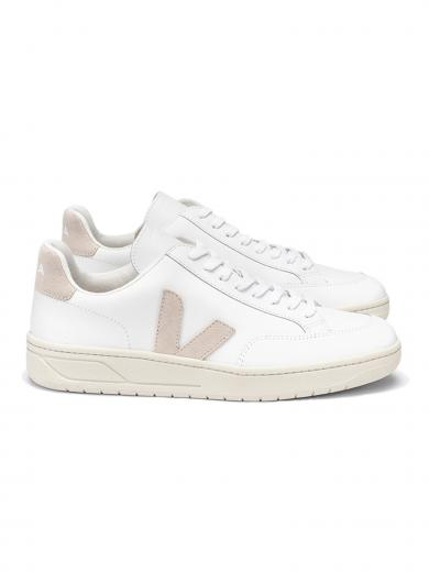 VEJA V-12 Leather Extra White Sable