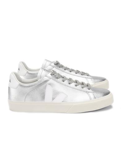 VEJA Campo Chromefree Silver White | 37