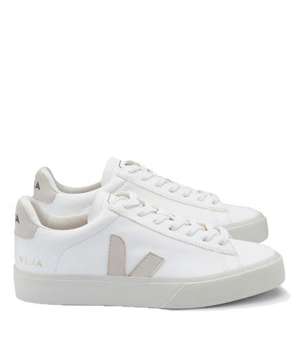 VEJA Campo Chromefree Leather White Natural 37