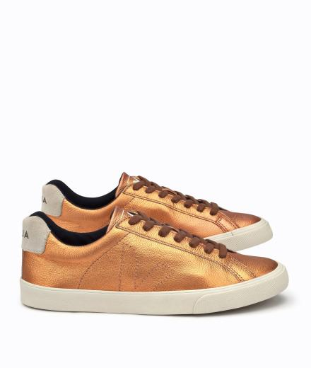 Veja Esplar Low Leather Copper