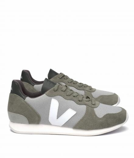 Veja Holiday Canvas B-Mesh Silver Grey White