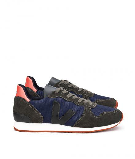 VEJA Holiday Low Top B Mesh Nautico Grafite Black