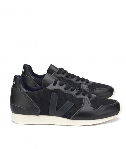 VEJA Holiday Low Top B Mesh Black Black Black Pierre Sole