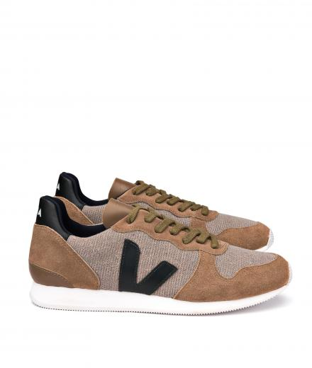 Veja Holiday Low Top Jute Rock Rock Black