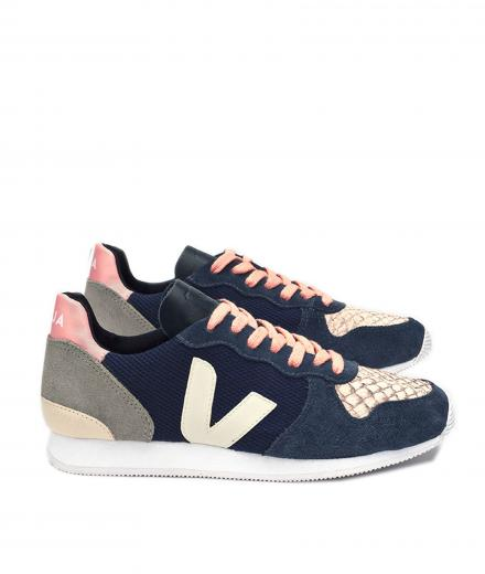 VEJA Holiday Low Top B Mesh Nautico Nautico Pierre