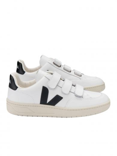 VEJA V-Lock Leather Extra White Black