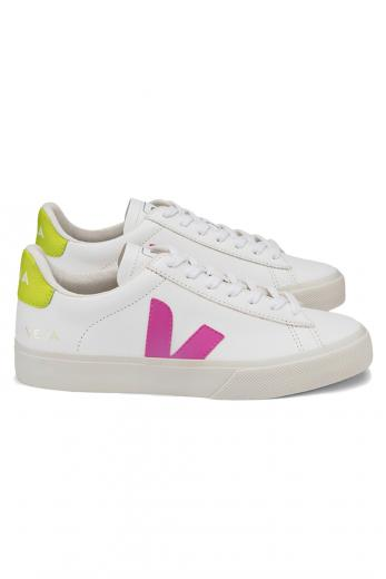VEJA Campo Easy Extra White Ultraviolet Jaune Fluo