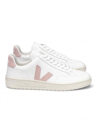 VEJA V-12 Leather Extra White Babe