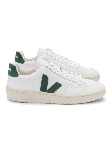 VEJA V-12 Leather Extra White Cyprus