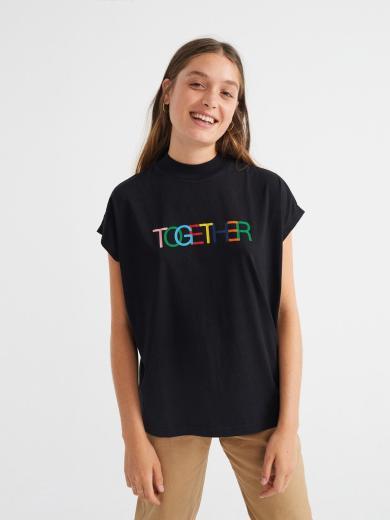 Thinking MU Together T-Shirt women Black