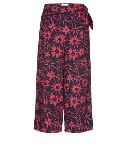 ARMEDANGELS Ilka Daisy Dust navy-mineral red | S