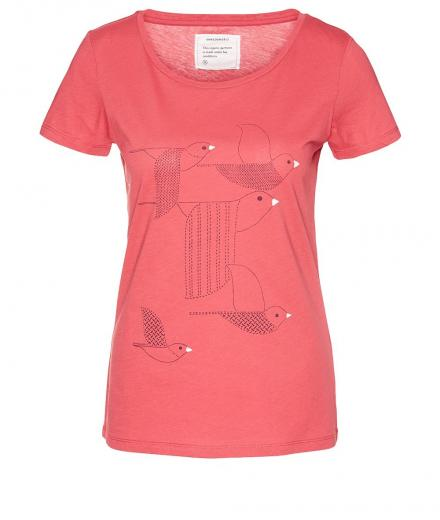ARMEDANGELS Mari Birds Stacked mineral red | M