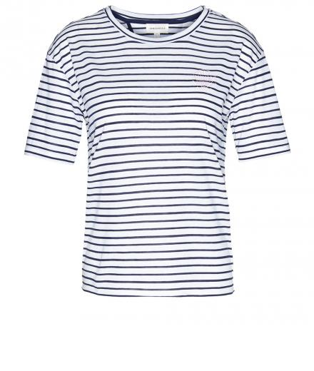 ARMEDANGELS Larissa Shell Stripes white-dark cobalt | M